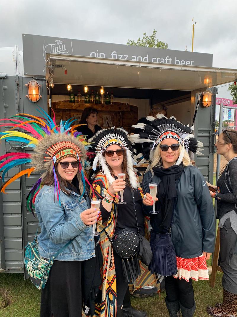 Festival mobile bar | The Tipsy Grey Essex