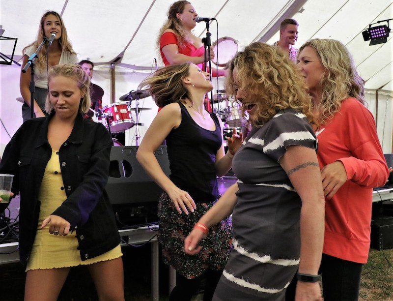 Writtle Jazz Festival - The Tipsy Grey mobile bar