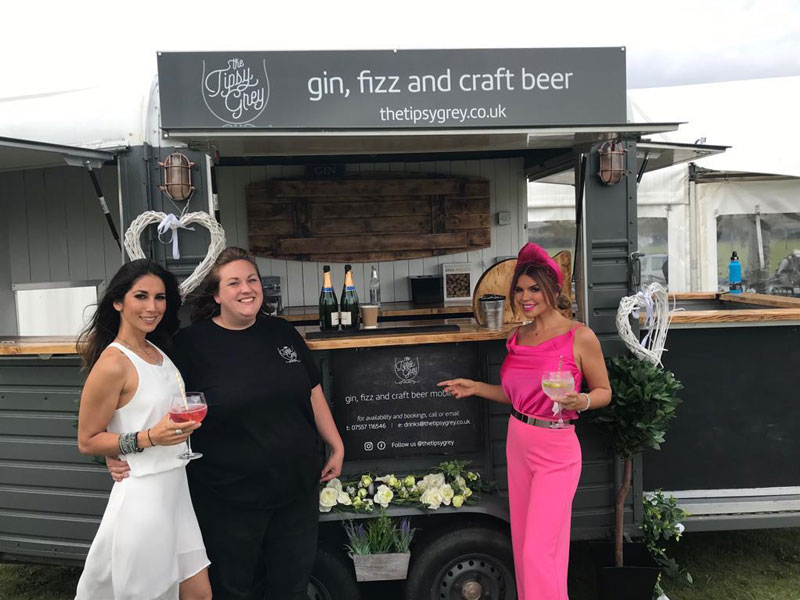 Manchester mobile bar at The Real Housewives of Chesire