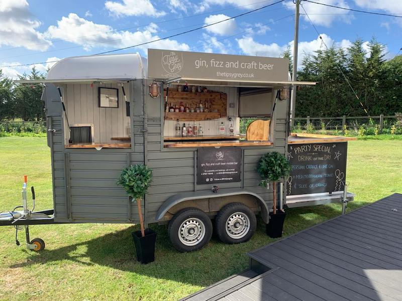 Charity mobile bar Essex - The Tipsy Grey